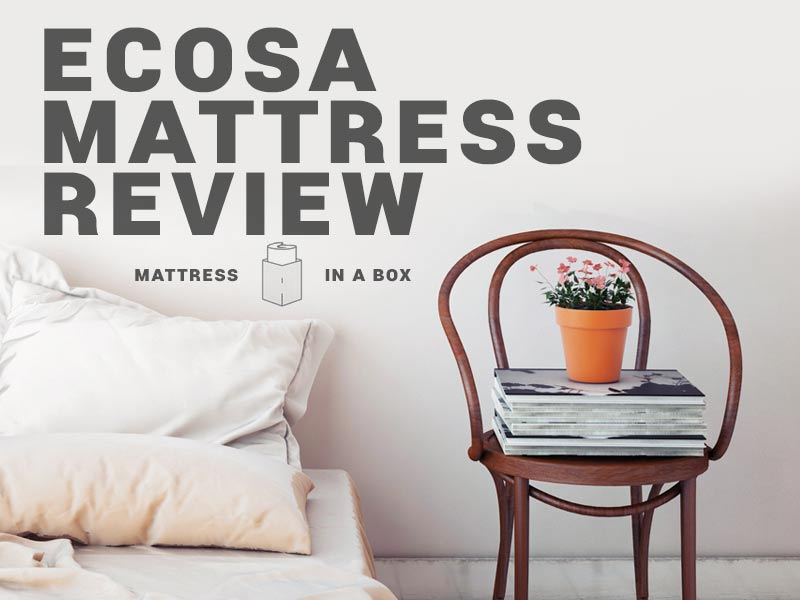 Read our Ecosa Mattress Review and learn about Ecosa promo codes.