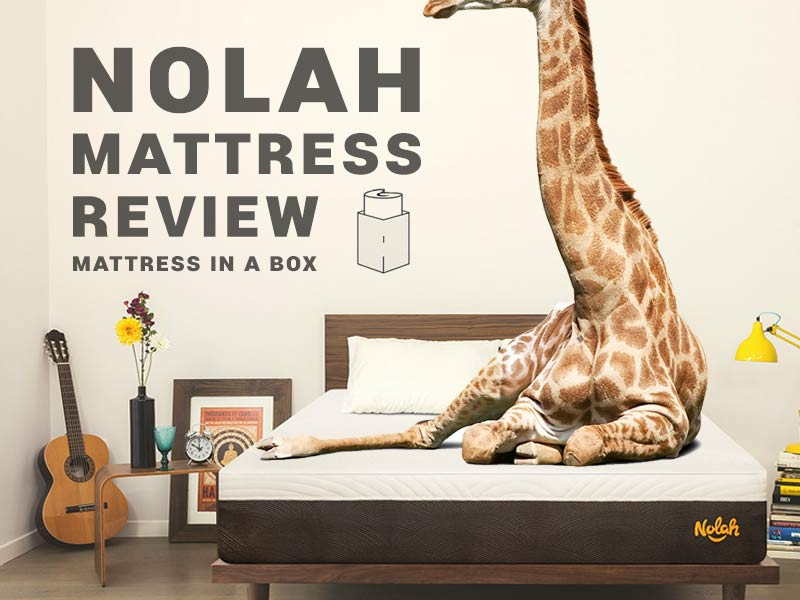 Read our Nolah Mattress Review