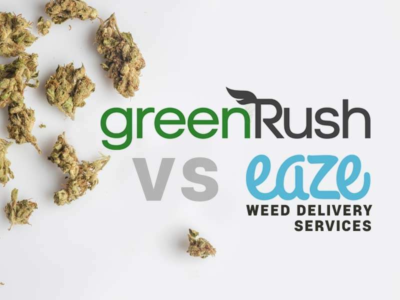 We compare GreenRush vs Eaze in our weed delivery comparison.