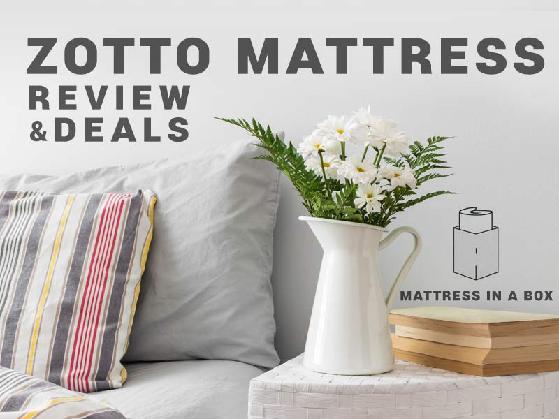Read our Zotto Mattress Review and save money with our Promo Codes