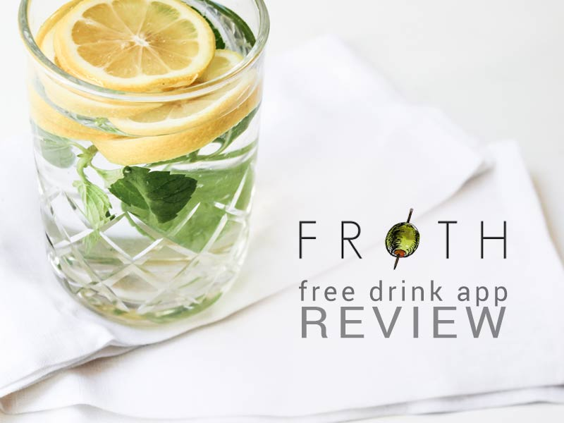 Learn how to get free drinks in NYC with our Froth Review