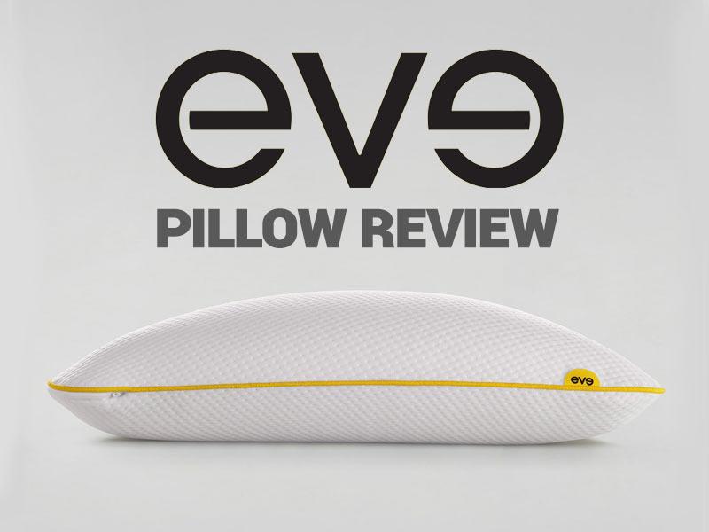 Eve Pillow Review A Firmer Pillow That Offers Terrific