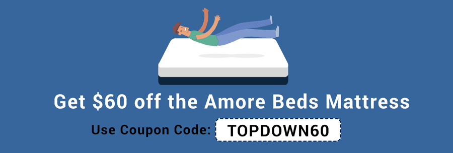 Get $60 off with our Amore Beds Promo Codes