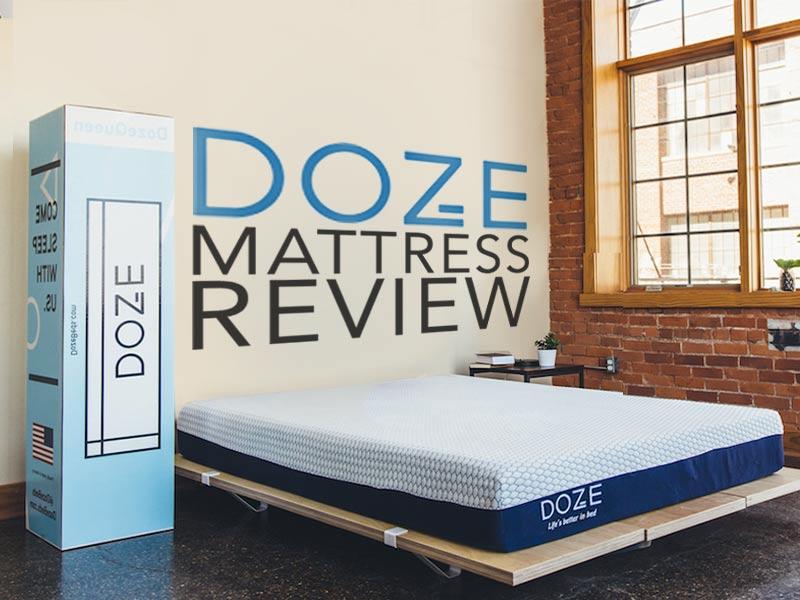 Read our Doze Mattress Review