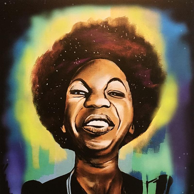 Nina Simone was the December 2016 Vinyl Me Please record.