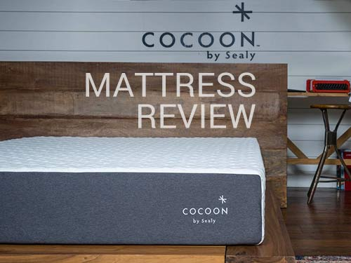 Cocoon Mattress Review Sealy S First Bed In A Box Is A