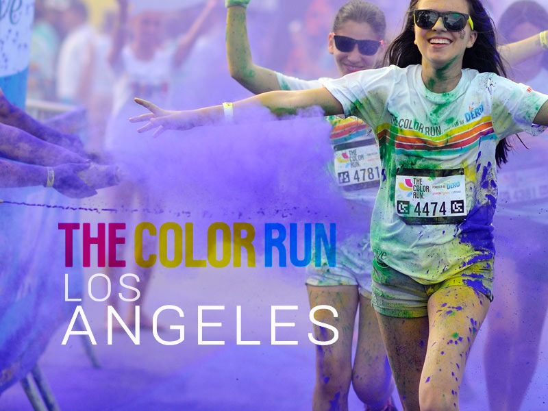 The Color Run Los Angeles 2017 review and discount