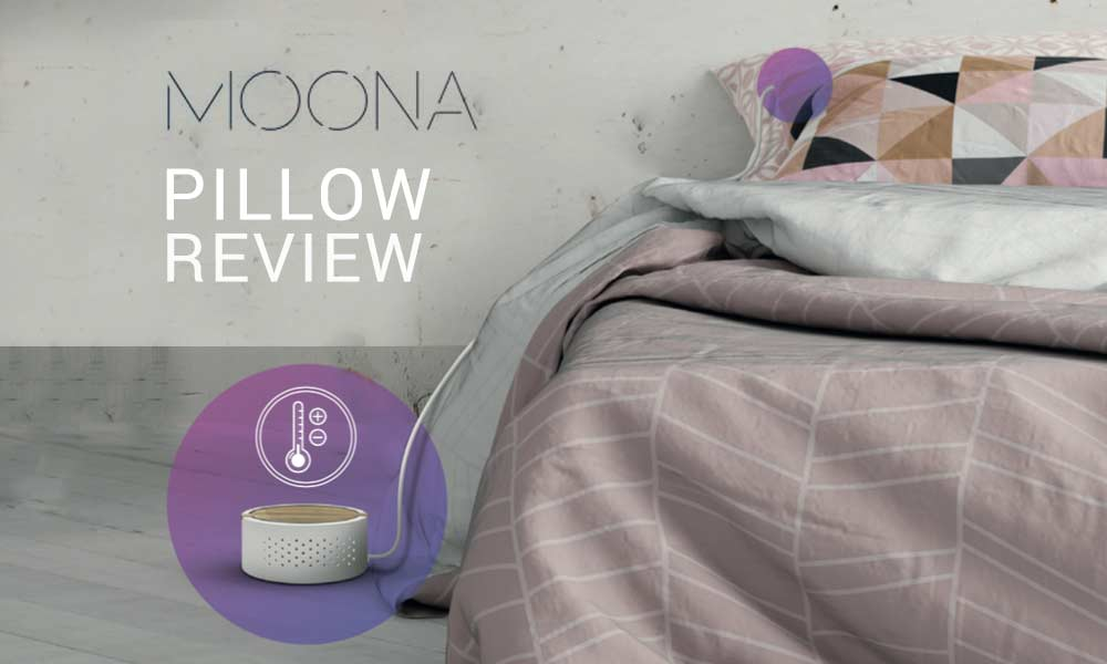 Read our Moona Pillow Review about this smart pillow