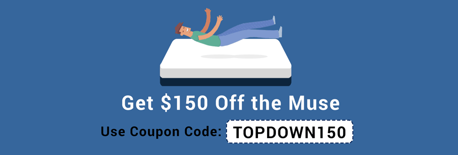 Get $150 Off with our Muse Mattress Promo Codes