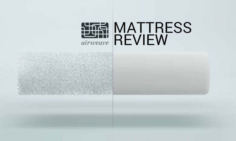 It's something completely new to the bedding industry. Read our Airweave Mattress Review
