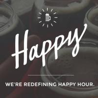 Happy Any Hour Logo