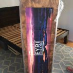 Eyri Mattress Review with the original box