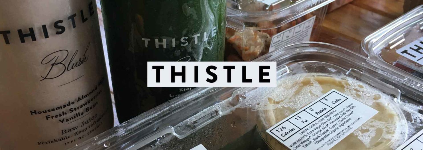 Thistle Food Delivery Review