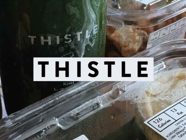 Thistle Food Delivery Review | Eating Healthy Can Be Delicious