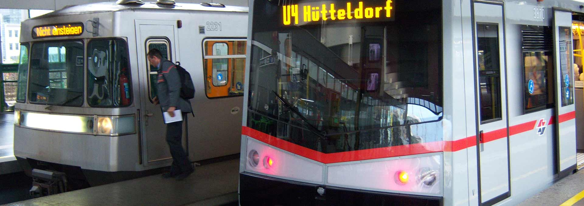 Using the Ubahn in Vienna Austria