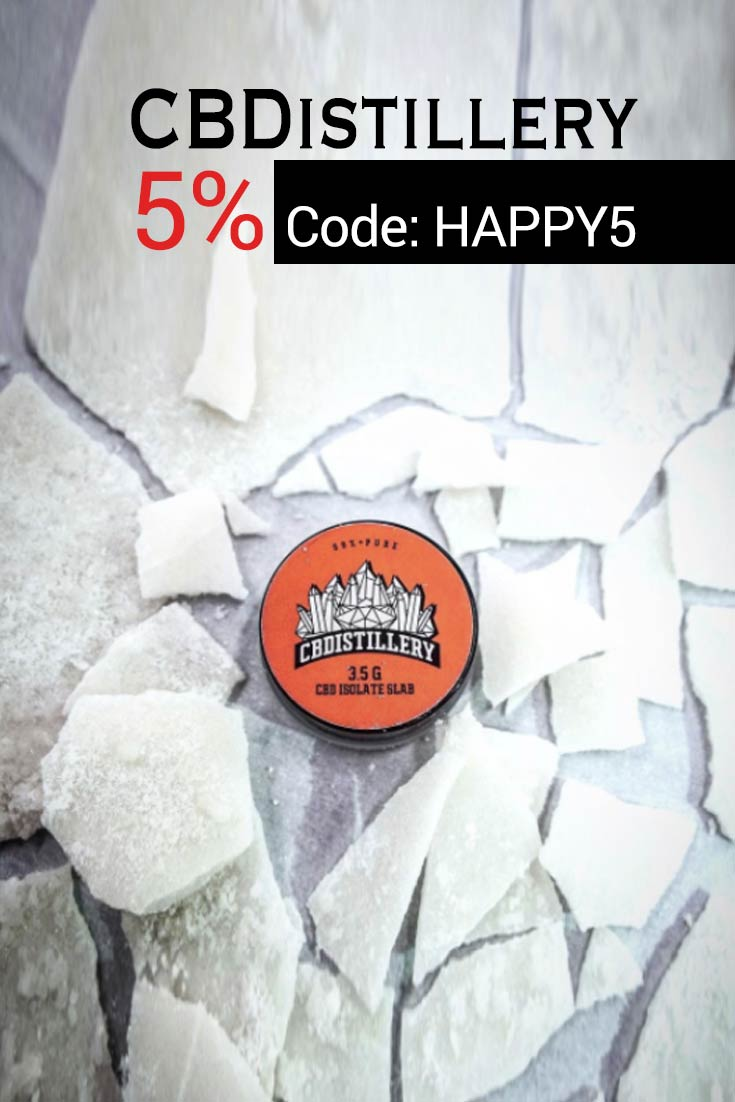 The cbdistillery coupons