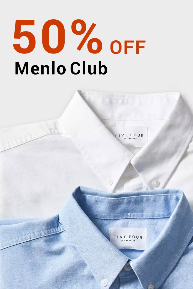 Menlo Club Coupon Codes: Get 50% Off The Menlo Club
