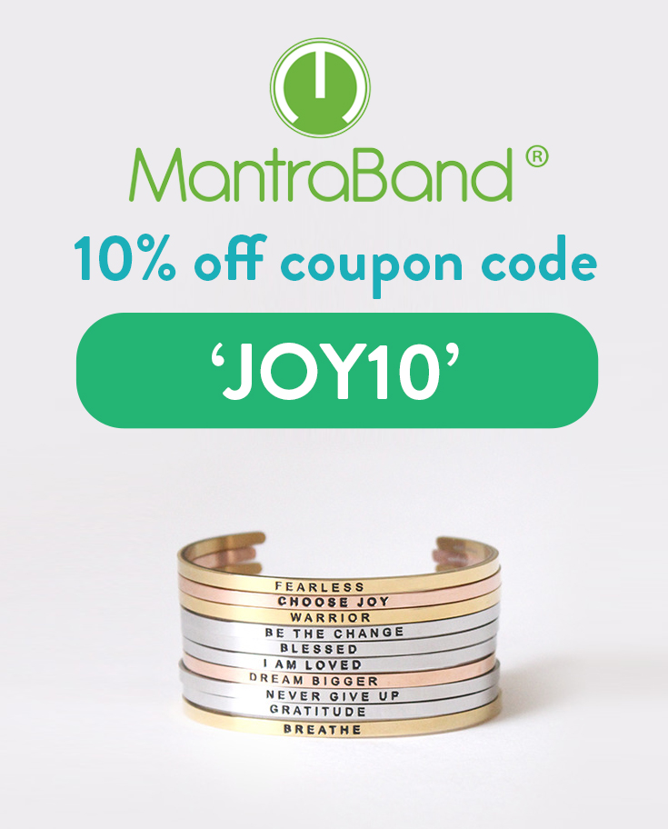 MantraBand Coupon Code: 10% off with discount code JOY10