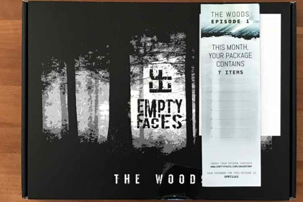 Empty Faces Review: A Paranormal Monthly Subscription