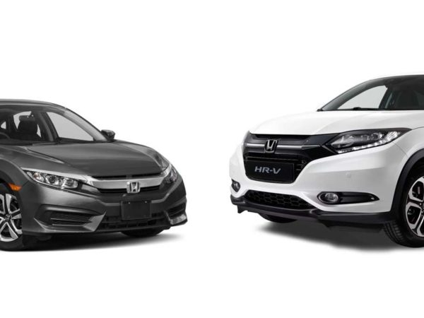 Honda Model Review: Civic versus HR-V