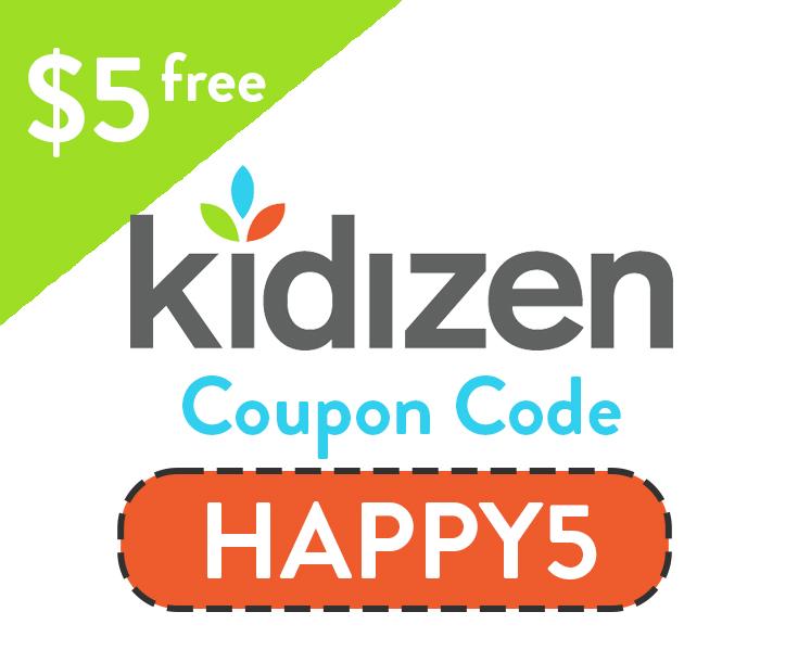 $5 Kidizen Coupon Code | Enter: HAPPY5