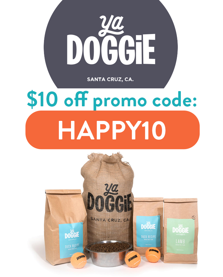 Ya Doggie Promo Code | Get $10 credit with the referral code: HAPPY10