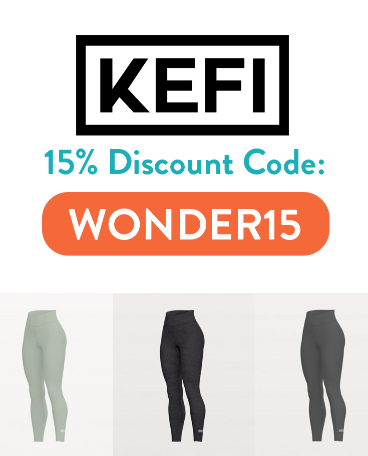 KEFI Discount Code | 15% off with code: WONDER15