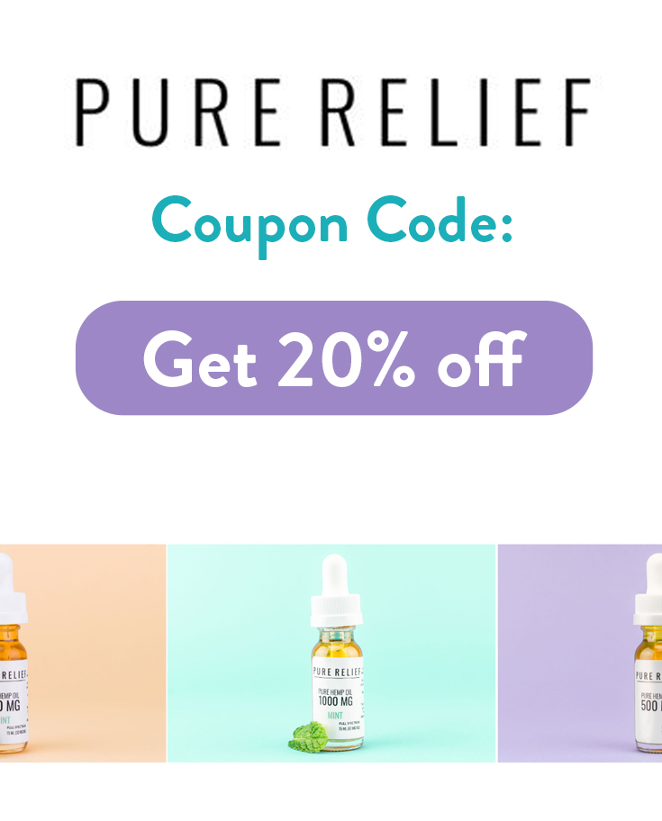 Pure Relief Coupon Code | Get 20% off with these discount codes