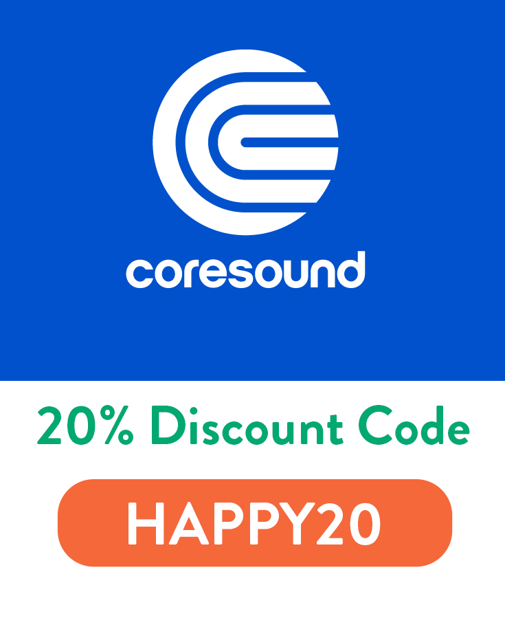 CoreSound Pads Discount Code | 20% off with code: HAPPY20