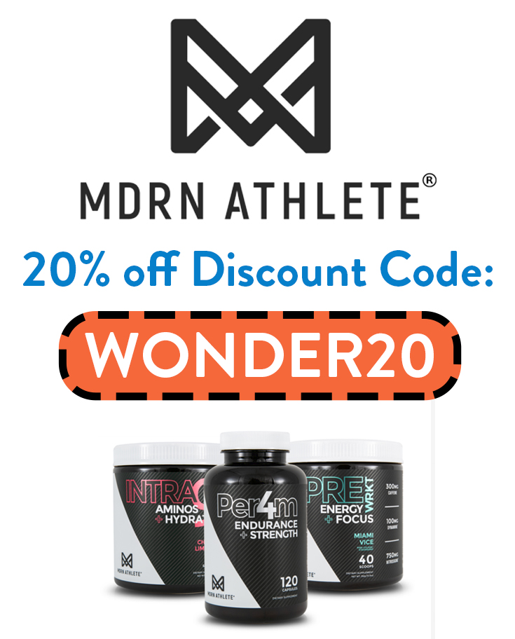MDRN Athlete Discount Code | 20% with code: WONDER20