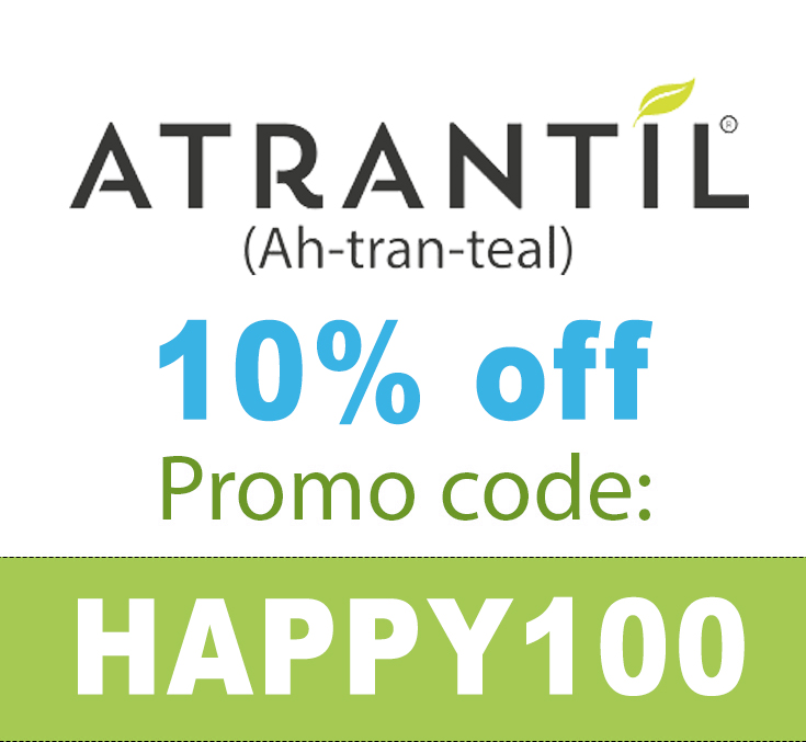 Atrantil Coupon Code | 10% off with code: HAPPY100