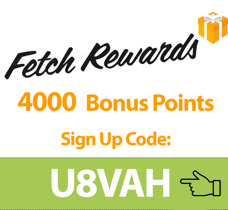 Fetch Rewards Sign Up Bonus Code: U