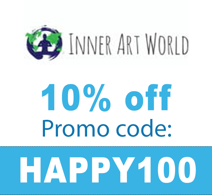 10% off Inner Art World Discount Code: HAPPY100