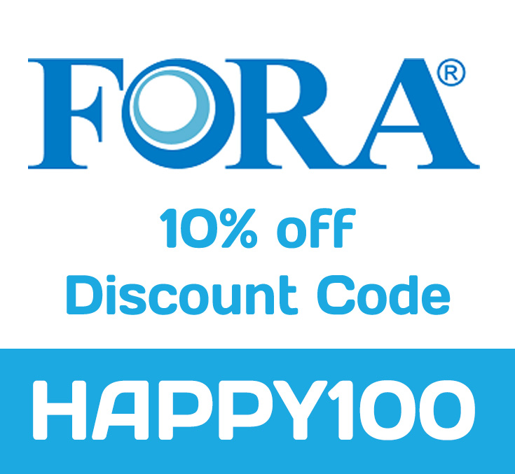 10% Fora ForaCare Discount Code: HAPPY100