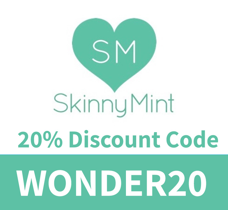 SkinnyMint Discount Code   20% code: WONDER20