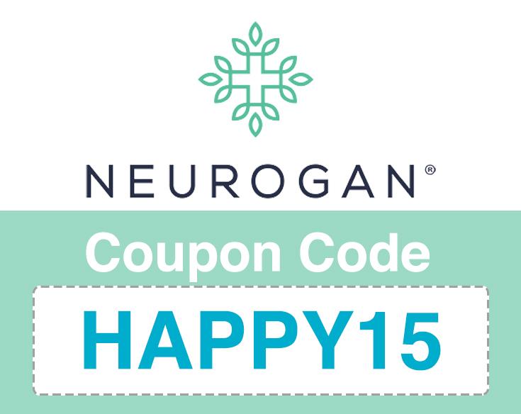 Neurogan Coupon Code | 15% off: HAPPY15