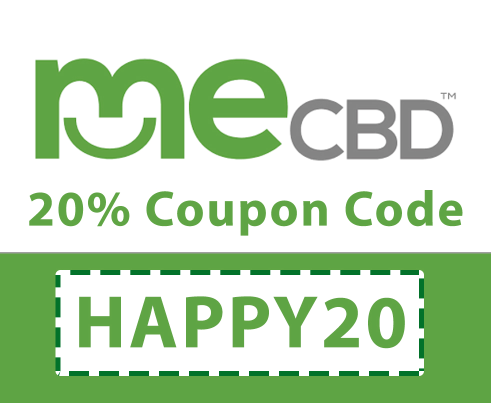 Me CBD Coupon Code | 20% off code: HAPPY20