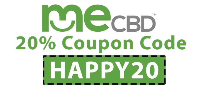 MeCBD Coupon Code   20% off code: HAPPY20