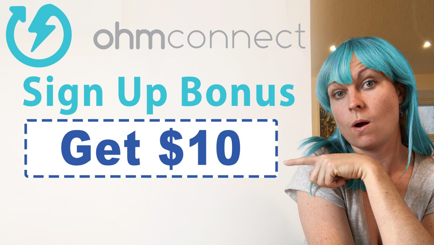 OhmConnect Sign Up Bonus | Get $10 free