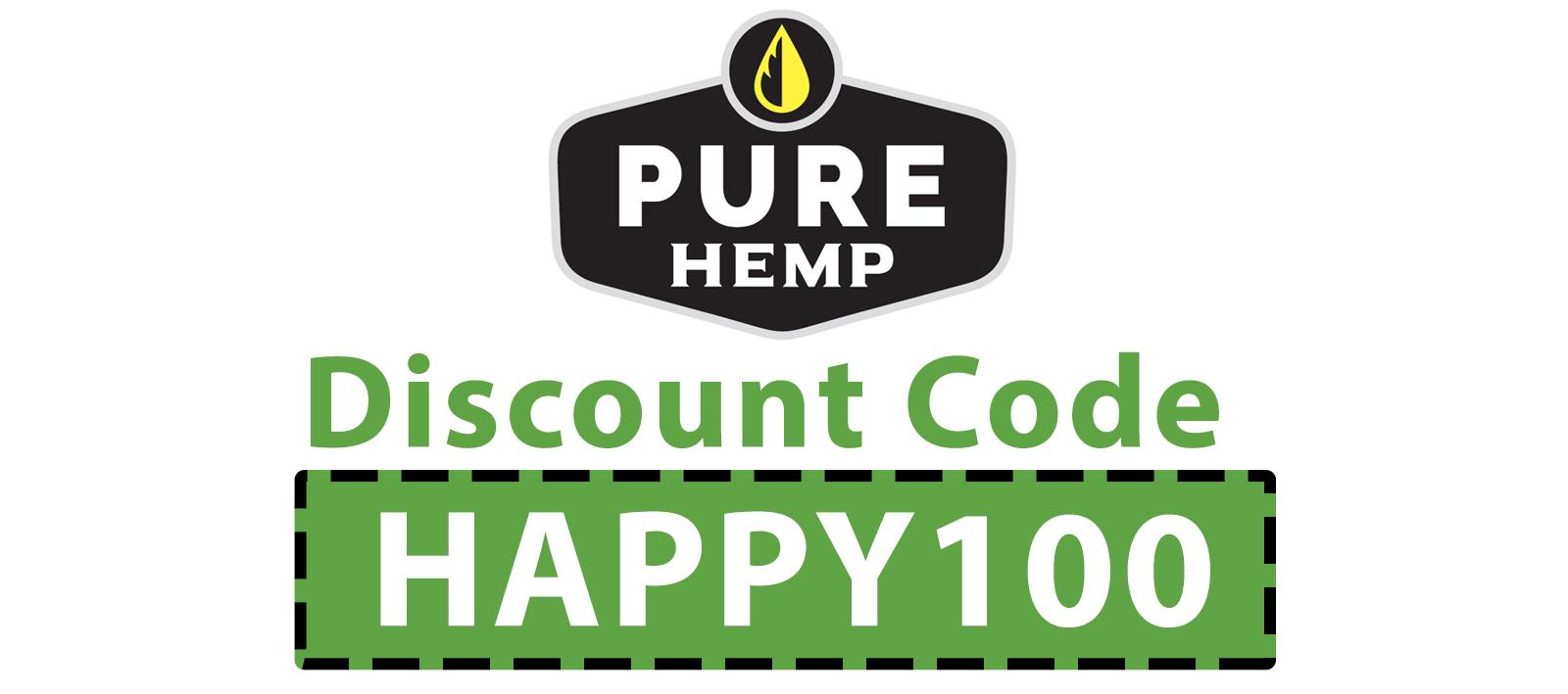 Pure Hemp CBD Discount Code: HAPPY100