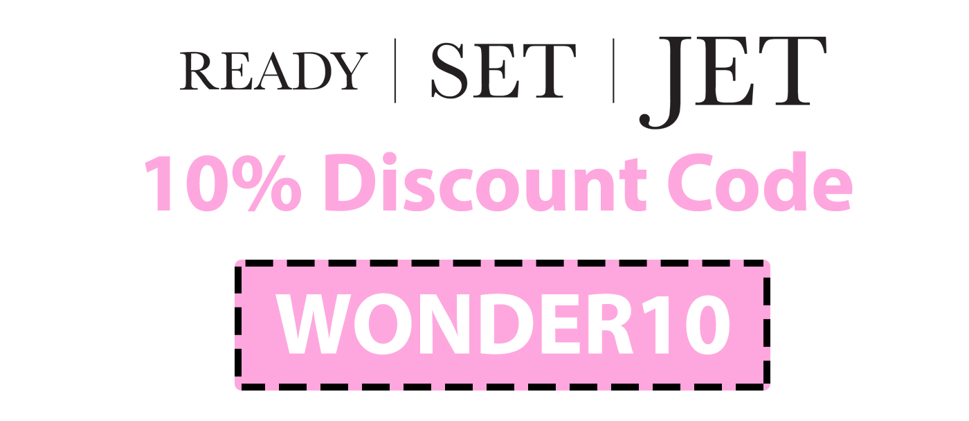 Ready Set Jet Discount Code | 10% off: WONDER10