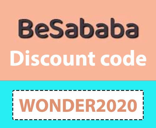 BeSababa Discount Code   15% off: WONDER2020