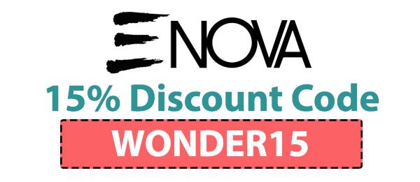 Enova Cosmetics Discount Code : WONDER15