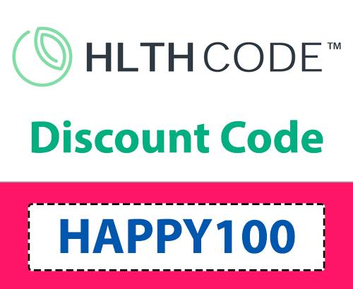 10% HLTH Code Discount Code: HAPPY100