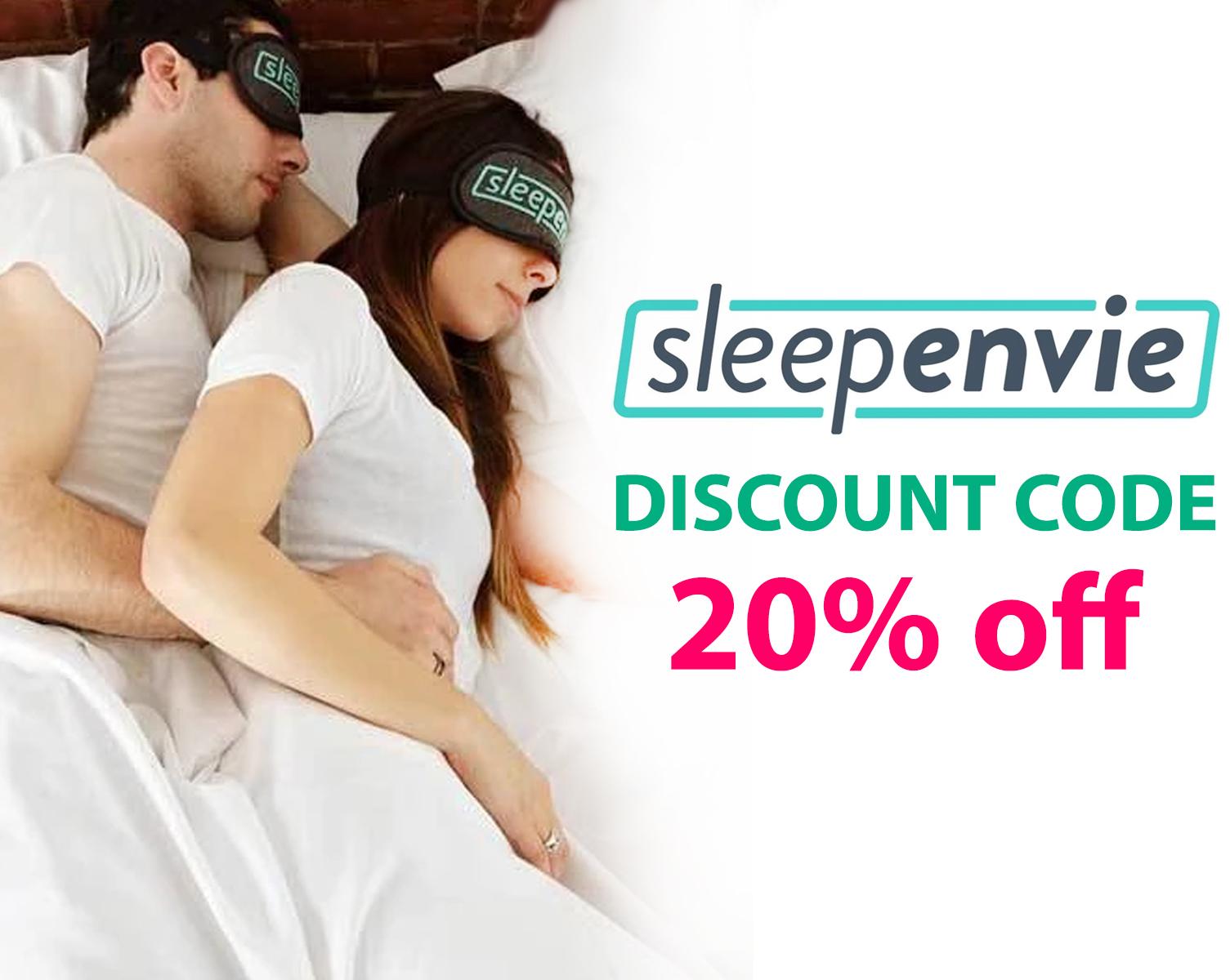 SleepEnvie Discount Code | Get 20% off