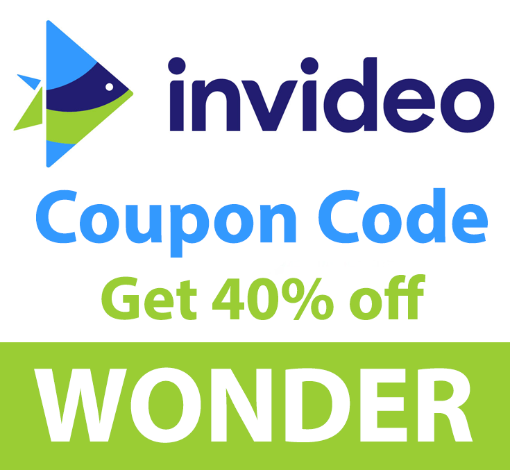 InVideo Coupon Code | 40% off: WONDER