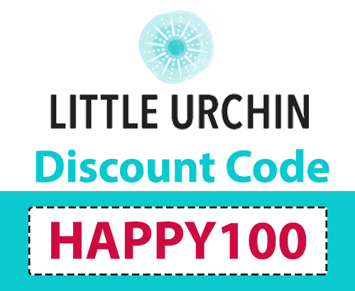 Little Urchin Discount Code | Code: HAPPY100