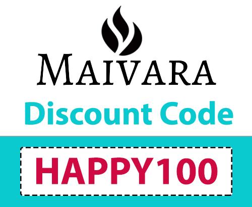 Maivara Discount Code | 10% off: HAPPY100
