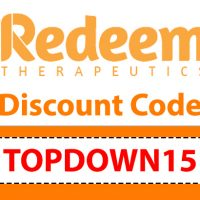 Redeem Therapeutics Discount Code | Code: TOPDOWN15