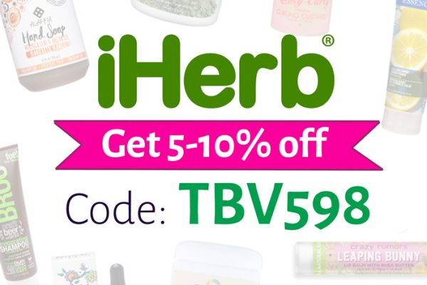 iHerb Promo Code | Use: TBV598